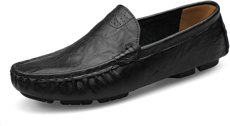 HhGold Jungen Jungen Jungen Männer Breathable Schwarz Mokassins Casual Penny Loafers UK 7.5 (Farbe   -, Größe   -)  912eaa