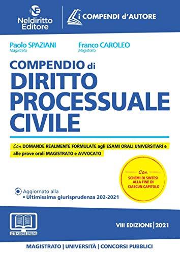 Compendio di diritto processuale civile. Nuova ediz.