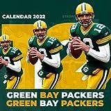 """Green Bay Packers Calendar 2022: Soccer Calendar 2022 - SPORT Calendar 2022-2023 – 18 months – BIG SIZE 17""""x11"""". Planner for all fans kids boys"""