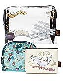 Harry Potter Cosmetic Bags 3 Maquillaje Organizador Caja Girls Ladies Regalo Un tamaño