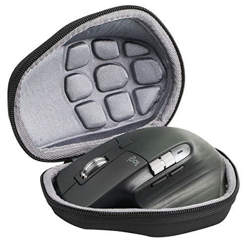 Duro Viajar Caso Cubrir para Logitech MX Master / Master 2S /Master 3 Ratón inalámbrico con Bluetooth por co2CREA