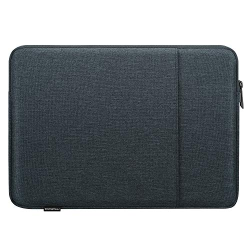 MoKo 13 Inch Laptop Sleeve, Carrying Bag Case Zipper Cover with Pocket Fits Macbook Pro 13' 2012-2015, Macbook Air 13' 2012-2017, iPad Pro 12.9' 2018/2020, Google Pixel Slate 12.3' 2018 - Space Gray