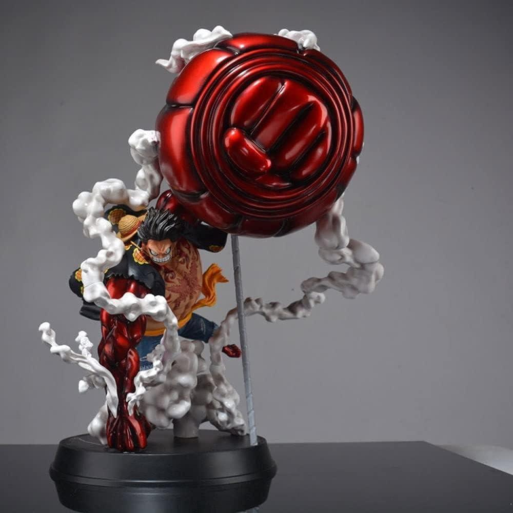 Una Pieza gkmonkey d Luffy Super Gigante Grande Mano 4 Engranajes Mono King Pistola Estatua Modelo Kit Figura Anime muñeca Juguete Escritorio decoración Altura 50 cm Hacen tu Vida Diferente