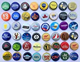 500 Various Beer Bottle Caps Micro Macro Brewery Mix from North America