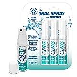 CloSYS Oral Breath Spray, 0.31 Ounce (3 Count), Mint, Sugar Free, pH Balanced, Eliminates Bad Breath