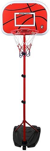 popular NURICH Soportes de Baloncesto de Altura Altura Altura Ajustable, 1.05-2M, Tablero y Juego de Aro para Niños  mejor precio