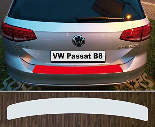 is-tuning passgenau für ***VW Passat B8 Variant*** ab 2014, Lackschutzfolie Ladekantenschutz transparent