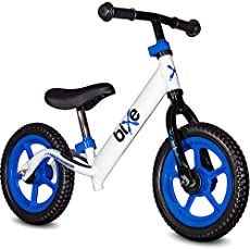 """Blue (4LBS) Aluminum Balance Bike for Kids and Toddlers - 12"""" No Pedal Sport Training Bicycle for Children Ages 3,4,5"""
