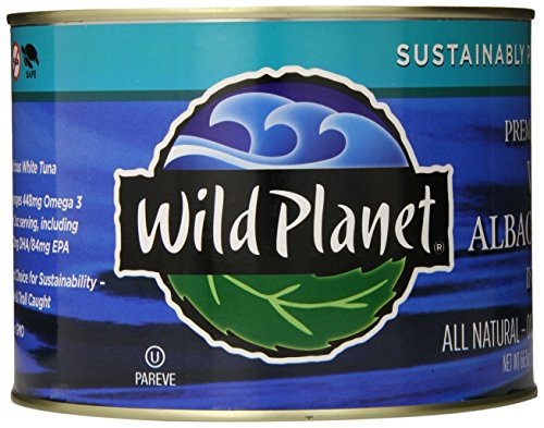 Wild Planet Bulk Wild Albacore Tuna in Water, Keto and Paleo, 3rd Party Mercury Tested, 66.5 Ounce