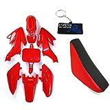 Stoneder, sedile alto in plastica per moto da cross CRF50 XR50 Pit Dirt Bike 50 125 160cc