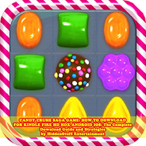 Candy Crush Saga Game audiobook cover art