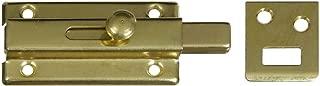 National Hardware N152-850 V860 Slide Bolt in Brass