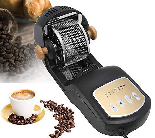 Moongiantgo Electric Coffee Roaster Machine 1600W Hot Air 300g Coffee Beans Roasting Baking Machine...