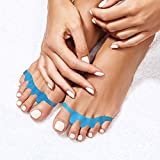 Toe Separators By Pedicura – Gel Toe Stretcher For Bunions & Overlapping Toes – Toe Straightener With...