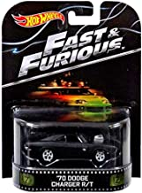 Hot Wheels '70 Dodge Charger R/T Fast & Furious 2014 Retro Series Die Cast Vehicle