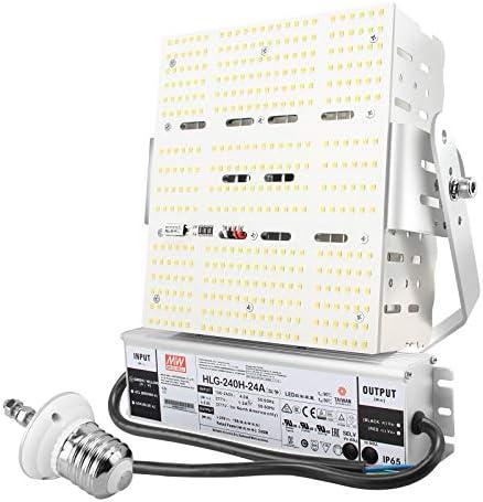 240W Shoebox LED HID Retrofit Kit AC100 277V 1000W MH HPS Parking Lot LED Retrofit Lights 34800LM product image
