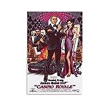 NBEI Casino Royale Poster, Filmposter, Leinwandkunst,