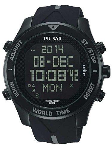 Montre Pulsar Sport Titane de Carbone - PQ2041X1