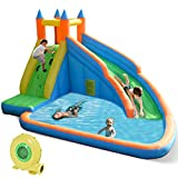 Costzon Inflatable Water Slide,...
