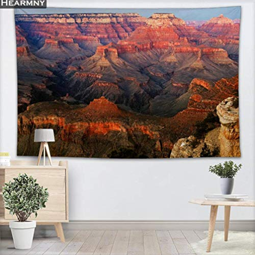 Vic Gray Nature Landscape Tapestry Grand Canyon Colorful Clear Home Decor Bedroom Livingroom Wall Hanging Tapestries