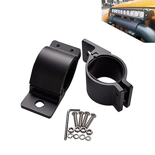 triclicks Voiture 49 MM/54 MM Colliers de serrage supplémentaire phares de travail Lampe de travail Lumière Collier du Dispositif de montage support barre lumineuse LED Offroad Bull Bar ATV Support