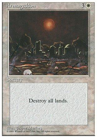 Magic The Gathering - Armageddon - Fourth Edition