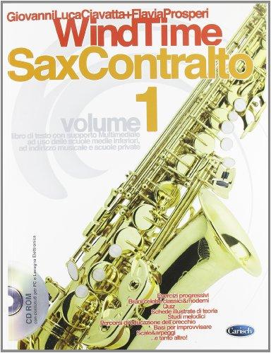 Windtime, Sax Contralto, Volume 1