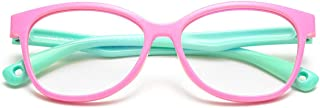 MARIDA Kids Blue Light Blocking Glasses Strap Computer and Gamer Eyewear Anti-Glare Protection Anti-Eyestrain Anti UV Glas...
