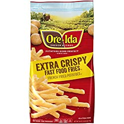 Ore-Ida Frozen Extra Crispy Fast Food French Fries (26 oz Bag)