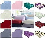 4pc Flannelette Plain Sheets Set
