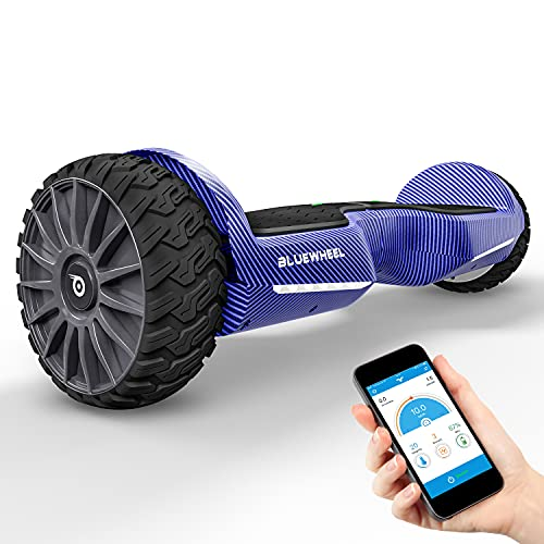 BLUEWHEEL Hoverboard compatible con App + Altavoz Bluetooth y Luz LED  ...