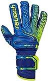 Reusch Attrakt G3 Fusion Evolution Ortho-Tec Defender Goalkeeper Glove - Size 8, Blue/Yellow