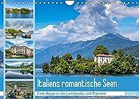 Italiens romantische Seen (Wandkalender 2022 DIN A4 quer): Traumhafte Eindruecke vom Lago Maggiore und Lago di Garda (Monatskalender, 14 Seiten )