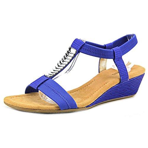 Alfani Vacay Women US 8 Blue Sandals