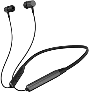 Zebronics Zeb-Lark ​Wireless ​in Ear​ ​Neckband Earphone​ ​with BT 5.0, Rapid Fast Charging, Up to 17H Battery Life, Dual ...