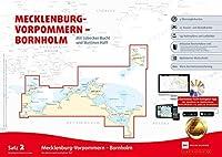 Sportbootkarten Satz 2: Mecklenburg-Vorpommern - Bornholm (Ausgabe 2020): Mit Luebecker Bucht und Stettiner Haff