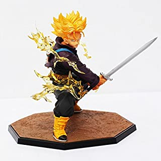 14cm Dragon Ball Z Figurines Super Saiyan Trunks Battle Version Anime Figure Model Collection Toy Educational Toys With Box