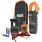Klein Tools CL120KIT Electrical Tester/Auto-Ranging Digital Clamp Meter Kit, GFCI Tester, Line Splitter, Pouch, Leads, 3 x AAA