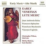 Venezianische Lautenmusik des 16. Jahrhunderts - hristopher Wilson