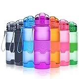Grsta Botella de Agua Deportiva -400ml/500ml/700ml/1000ml- Sin BPA & a Prueba de...