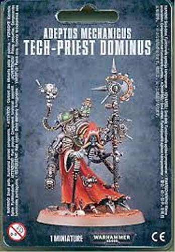 "GAMES WORKSHOP 99070116001""Warhammer 40.000"" Adeptus Mechanicus Tech-Priest Dominus Figura de acción , color/modelo surtido"