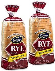 Rye Bread - 2 Pack - 32 oz per Loaf | Delicious Sandwich Bread | Fresh Bread | Soft & Light Rye Bread | Dairy & Nut Free | 2-3 Day Shipping | Stern's Bakery