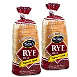 Rye Bread - 2 Pack - 32 oz per Loaf | Delicious Sandwich Bread | Fresh Bread | Soft & Light Rye Bread | Dairy & Nut Free | 2-3 Day Shipping | Stern's Bakery (2 Pack)
