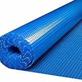 JLXJ Cobertor Solar Piscinas Cubiertas Solares Azules para Piscinas, Rectángulo Inflable Piscinas/Manta Calefactora para Piscinas Enterradas, Jacuzzi de Servicio Pesado Lona de Invierno