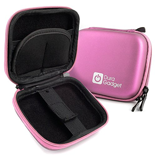 yuntab smartwatch DURAGADGET Custodia Rosa per Yuntab SW01 | Sannysis Astuto - con Tasca Interna per Accessori - Protezione 100%