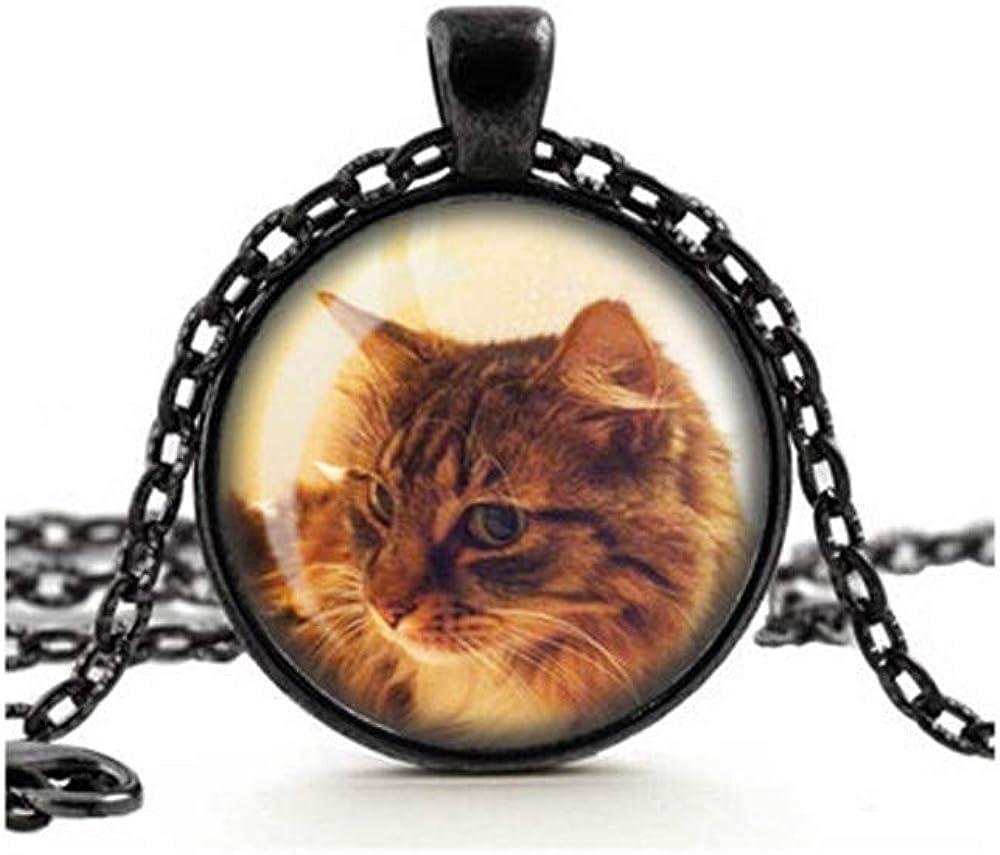 Dandelion Custom Pet Necklace, Pet Memorial Pendant, Personalized, in Loving Memory, Glass Cameo, Sympathy Pet Gift, Pet Jewellery, Pet Loss Necklace