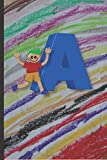 A: Children's Boys  Notebook handwriting Spelling Writing 120 Pages (6 x 9) Lined