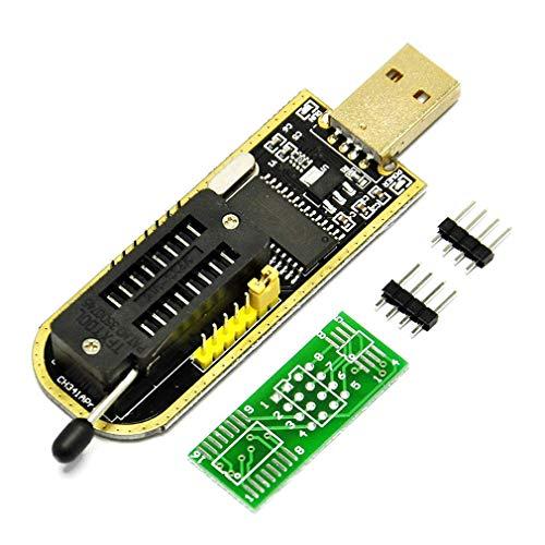 CH341A STC FLASH 24 25 EEPROM BIOS Writer USB Programador SPI USB a TTL