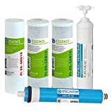 APEC Water Systems FILTER-MAX-ES50 50 GPD High Capacity Complete Replacement Filter Set For Essence...