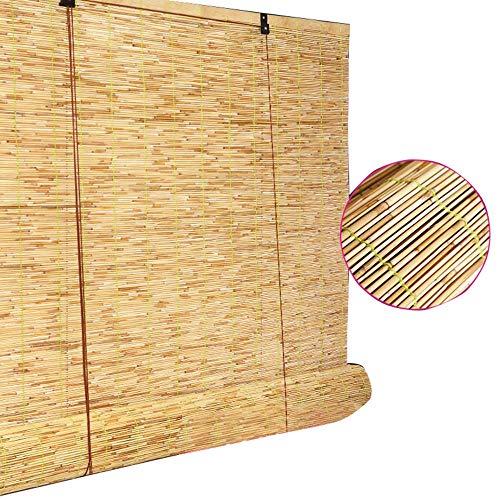 Rideaux de Bambou en Rideau de Roseau, Stores enrouleurs de Levage intérieurs et extérieurs, Rideaux de Paille imperméable rétro de Chine, Rideaux de Bambou naturels intérieurs et extérieurs